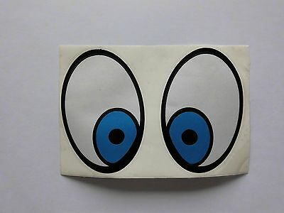 Plastifilm Flyscreen Stickers - Motoplas Metalplast Biemme Trophy SS30 Moon Eyes