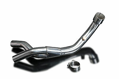 De-Cat Link Pipe Stainless Steel Yamaha YZF-R1 YZFR1 07 08 4C8