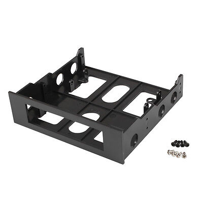 3.5'' to 5.25'' Drive Bay Computer Case Adapter Bracket USB Hub Floppy