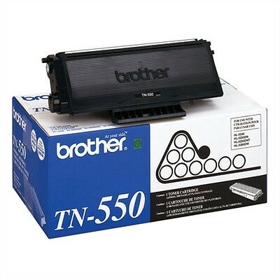 Brother Fax Toner Cartridge TN-550 New Genuine Factory Mint