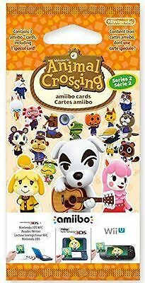 NEW Animal Crossing: Happy Home Designer Amiibo Cards Pack - Series 2 - 1 Pack