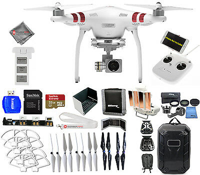 DJI Phantom 3 Standard with 2.7K Camera! EVERYTHING YOU NEED KIT!! BRAND NEW!!