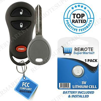 For 2001 2002 2003 dodge durango dakota grand caravan ram remote replacement for 1999 2003 dodge grand caravan 2002 2005 ram remote key fob set publicscrutiny