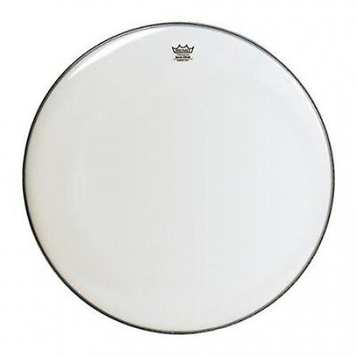 Remo WeatherKing Smooth White Ambassador Bass Drumhead 50cm. Free Delivery