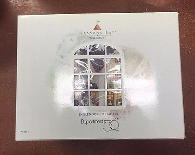 "Dept 56 Seasons Bay Building ""Inglenook Cottage #5"""