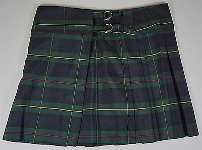 NWOT Women's Ladies William Lawson's Scotch Whisky Short Pleated Kilt Medium M