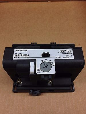 48BSF3M20 Siemens Solid State Overload Relay