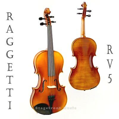 Raggetti Rv5 Full Size 4/4 Violin Outfit. Ideal Instrument For Advanced Student