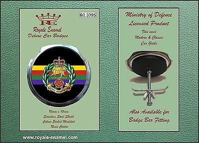 Royale Car Grill Badge + Fittings - ROYAL HAMPSHIRE REGIMENT - B2.3395