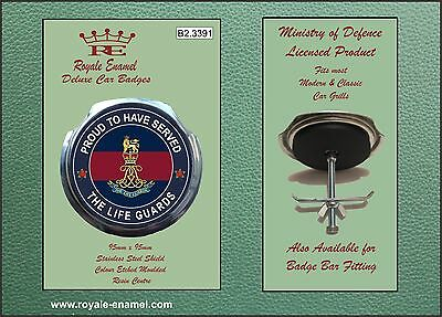 Royale Car Grill Badge + Fittings - THE LIFE GUARDS PROUD - B2.3391