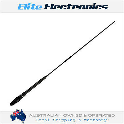 ORICOM ANU220 6.5dBi UHF CB BLACK ANTENNA 0.9M HEAVY DUTY FOR TRUCK 4X4 4WD