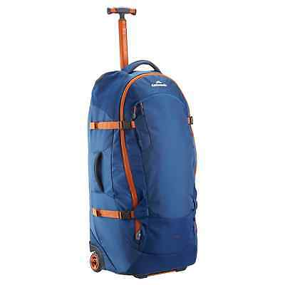 Kathmandu Hybrid 70L Backpack Wheeled Luggage Bag Travel Trolley v3 Blue