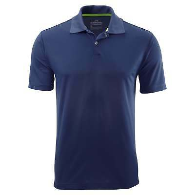 Kathmandu Vanua Mens Classic Short Sleeve Collar Polo Shirt Top v2 Indigo Blue