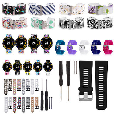 For Garmin Smart Watch Silicone Watch Band Wrist Strap Bracelet With Tool Pins