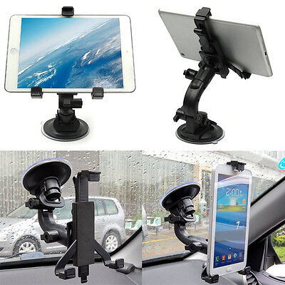 7 Inch Tablet Holder Suction Cup Mount Car Windshield Cradle Bracket Stand 1pc