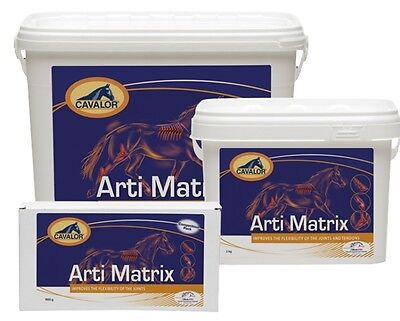 Cavalor ARTI MATRIX Supplement Improve Flexibility Joints + Tendons 900g/2kg/5kg