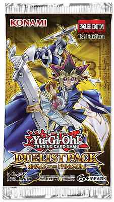 5x Yu-Gi-Oh! Duelist Pack Rivals of the Pharaoh Booster Pack