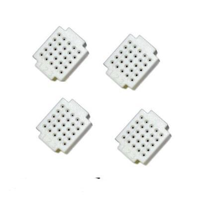 5 pcs Mini 25 Points Breadboard Solderless Prototype Tie-point white NEW