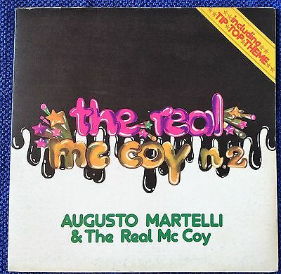 # A.Martelli &The Real McCoy THE REAL MC COY N.2 Italy'75 EX-/M- gf LP-C00106