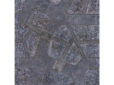 Cobblestone City 4x4 Gaming Mat