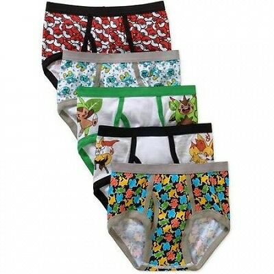 Pokemon Boys Underwear, 5 Pack. Delivery is Free