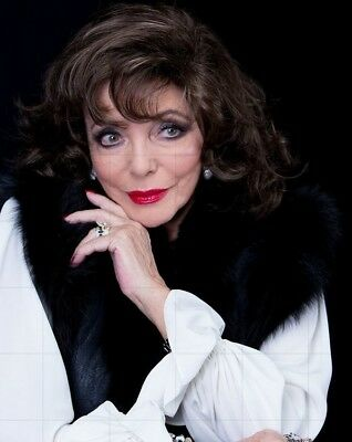"JOAN COLLINS - 10"" x 8"" Colour Portrait Photograph 2015  #2215"