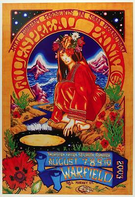 2003 – The Warfield – Widespread Panic, Concert Poster, San Francisco