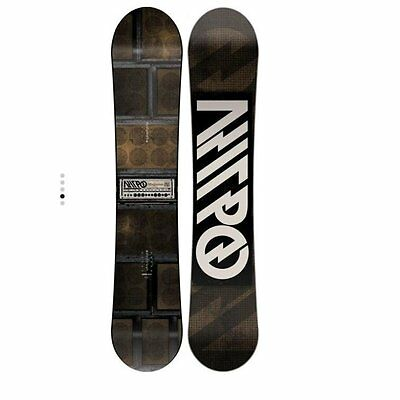 Nitro Magnum 162 Fw 2017 Freeride Snowboard New Wide Cam-Out Camber