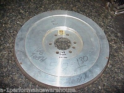 NEW OLD STOCK Vintage SEMA Aluminum 168 Tooth Flywheel 10.5 Chevy Ratrod Gasser