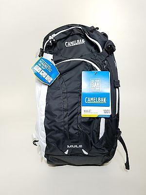 Camelbak Mule 100 oz Hydration Pack - Charcoal / White