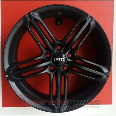 """F557/mb Kit 4 Cerchi In Lega Da 18"""" Et45 Per Audi A4 B5 B6 B7 8E Made In Italy"""