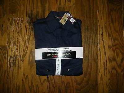 Walls Flame Resistant FR Work Wear Deluxe  Coveralls Navy Size 40 Tall NWT NEW