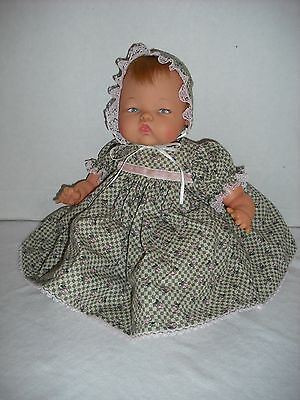 "NEW! Quality Made Dress Set For 14"" Ideal Tiny Thumbelina Baby Doll By OTM"