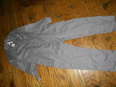 Big Bill FR Flame Resistant Deluxe Coveralls NWT Size 46 Short Gray Work Wear