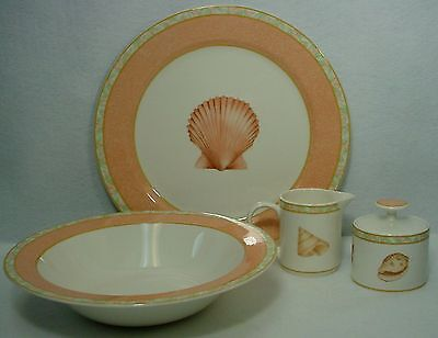 VICTORIA & BEALE china ATLANTIS 9044 pattern 5-pc HOSTESS SERVING SET