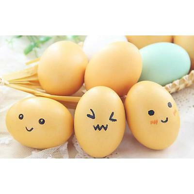 Easter Eggs Gift Wood Chicken Egg Assortment DIY Decoration Toy 2016 NEW#