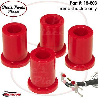 Prothane 18-803 Rear Frame Shackle Bushing Kit 89-04 Toyota Pickup/Tacoma-Poly