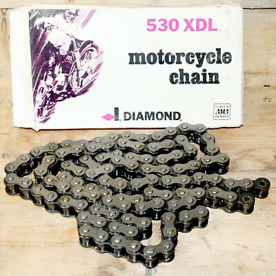 Diamond PowerSports USA #530 Roller Chain Replacement Harley Davidson 110 Link
