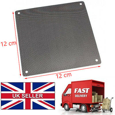 2x 120mm Computer PC Dustproof Cooler Fan Case Cover Dust Filter Mesh*