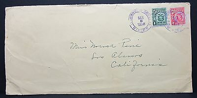 Panama Cover 1938 MiF auf Brief (Lot-4899+