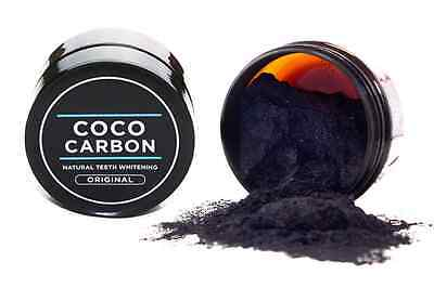 Coco Carbon - Natural white teeth whitening in 14 days - Guaranteed Results
