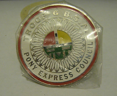 Boy Scouts of America BSA Troop 6 Pony Express Council Slide Woogle