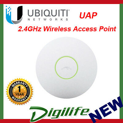 Ubiquiti Networks UAP 2.4GHz 300Mbps Wireless Access Point 122m w/PoE injector