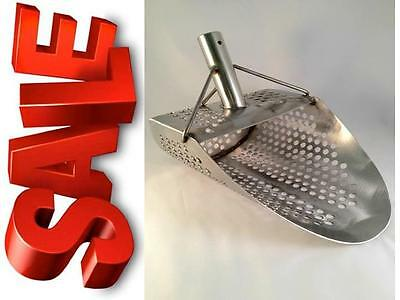 Stainless Steel Sand Beach Water Scoop Shovel Metal Detector Digging & Recovery