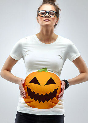 NEW - Mamagama - A Pumpkin Bump T-Shirt - Maternity Tee