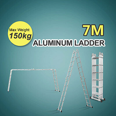 7 M Folding Multipurpose High Quality Aluminium Function Adjustable Ladder