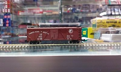 3 Assorted N Scale Atlas and Bachmann Box Cars