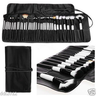 Pro 36pcs Makeup Brushes Set Eyeshadow Eyeliner Lip Brush Powder Foundation Tool