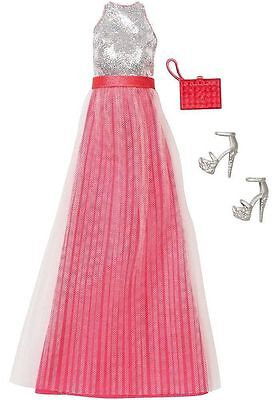Barbie Complete Look Fashion Pack - Dress, Shoes & Handbag - DNV27 - NEW