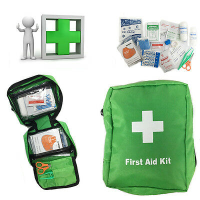 Medical Emergency All Inclusive Travel First Aid Kit Bag Durable Caravn Boat Car